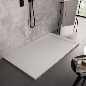 Piatto Doccia Ardesia Bianco Mineral Marmo | PIETRA GRID